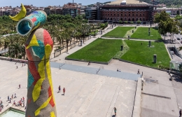 """Mega-center of sanitation"" has opened in Joan Miró park"
